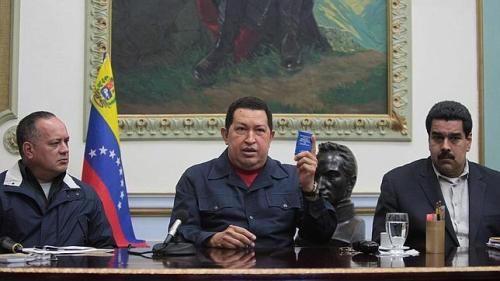 Hugo Chavez' final News Conference