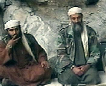 Abu Graith and Bin Laden after 9-11, video, Oct 7 2001 (Hurriyet, 7feb13)